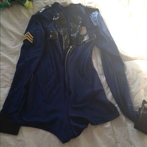 Sexy police woman costume Halloween small